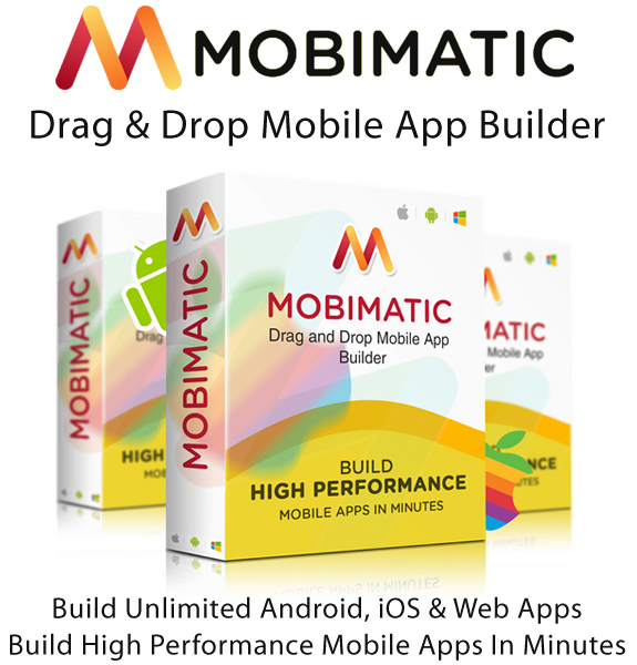 Mobimatic App Builder Monthly License Full Access