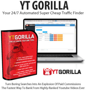 YT Gorilla Software Yearly License Free Download By Chris Fox