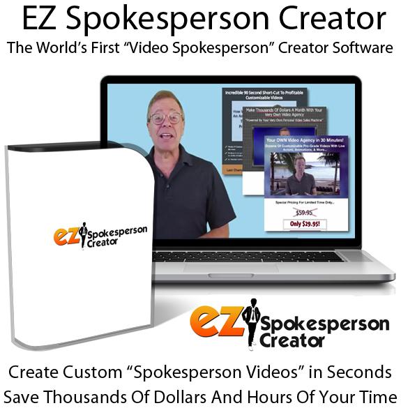 EZ Spokesperson Creator Basic For PC & Mac Free Download