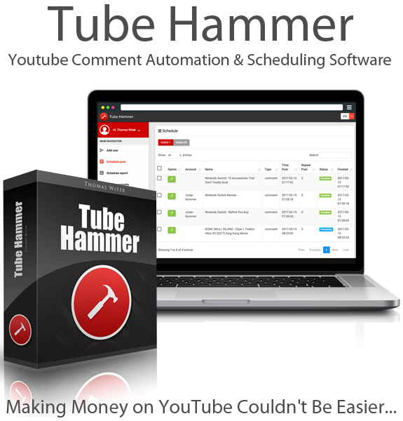 Tube Hammer Pro By Thomas Witek Instant Download