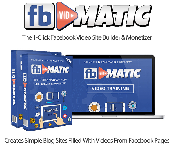 FB Vidmatic Basic Package Instant Download By ProfitJackr Team