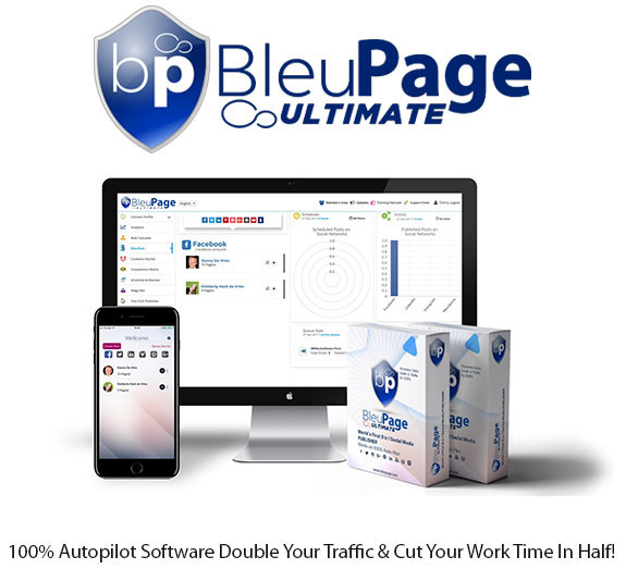 BleuPage Ultimate Agency Instant Download By BleuPage Limited