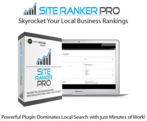 Site Ranker Pro WP Plugin Instant Download By Robert Dickson