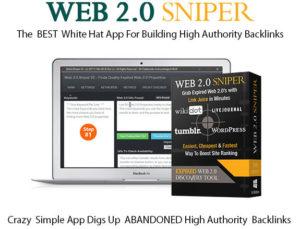 Web 2.0 Sniper V2 Pro License Instant Download By Jane Williams