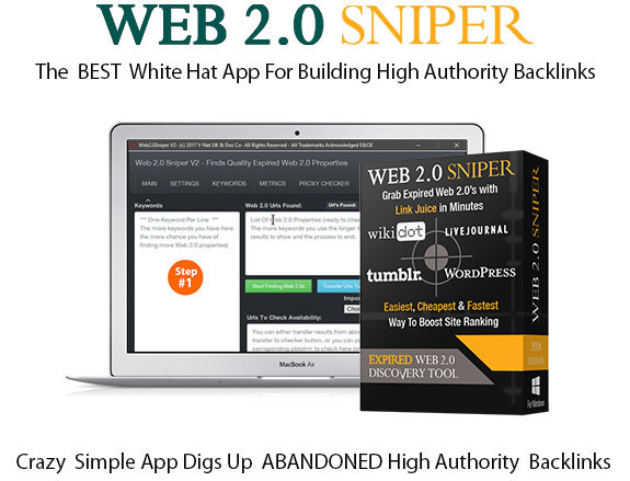 Web 2.0 Sniper V2 Pro License Instant Download By Jane Williams