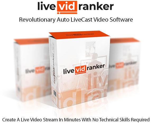 LiveVidRanker Software Pro Instant Download By Andrew Darius