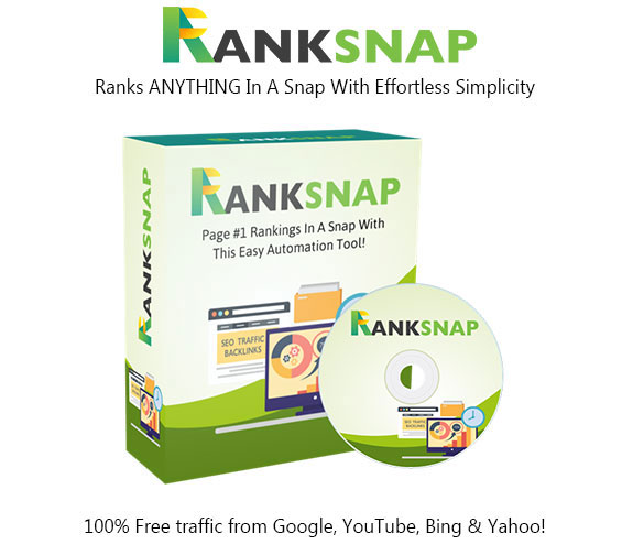 RankSnap Software Pro License Instant Download By Tom Yevsikov