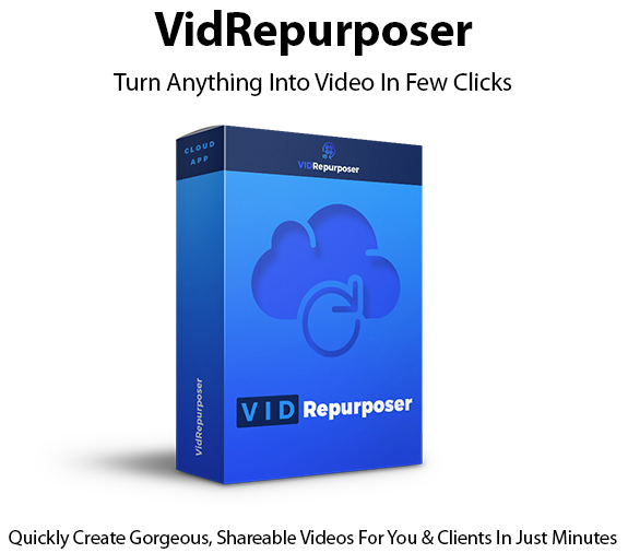 VidRepurposer Instant Download Commercial License By Ben Murray