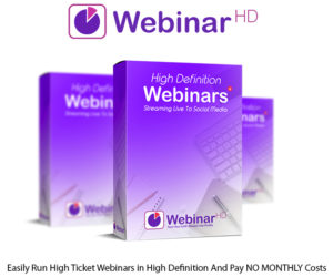 WebinarHD Software Instant Download Personal License