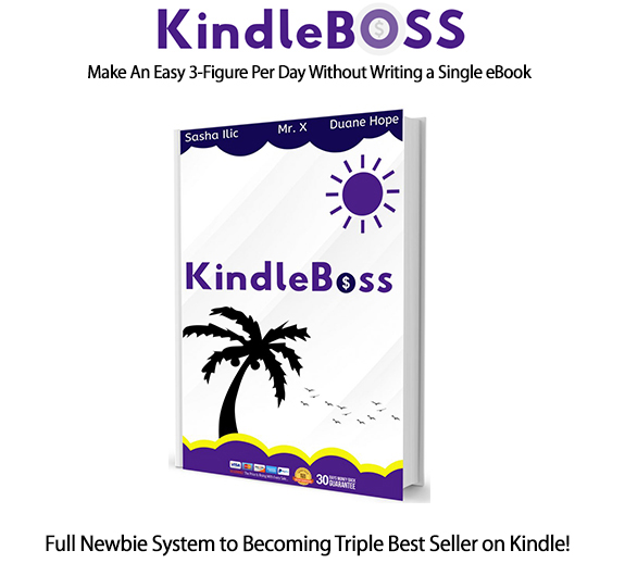 Kindle Boss Software Instant Download Pro License By Sasha Ilic