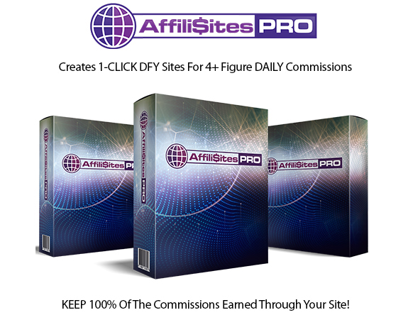 AffiliSites Software Instant Download Pro License By Glynn Kosky