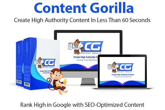 Content Gorilla Software Instant Download Pro License By Neil Napier