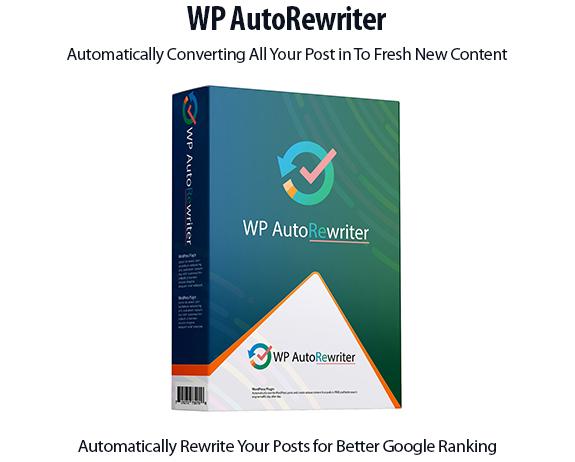 WP AutoRewriter WP Plugin Instant Download By Igor Burban