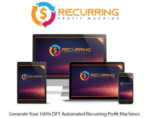 Recurring Profit Machine Pro Instant Download By Glynn Kosky