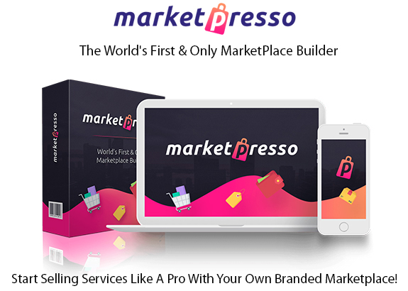 MarketPresso Marketplace Builder Software Instant Download