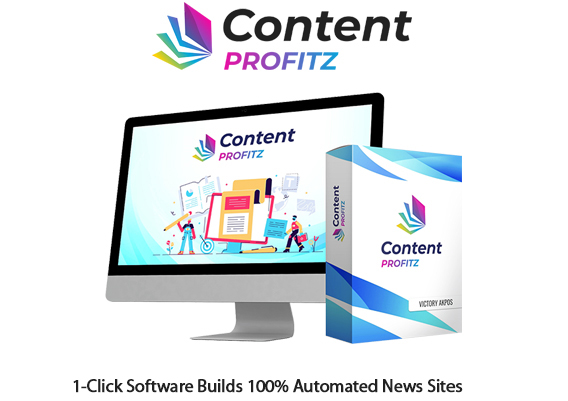 Content Profitz Software Instant Download By Victory Akpos
